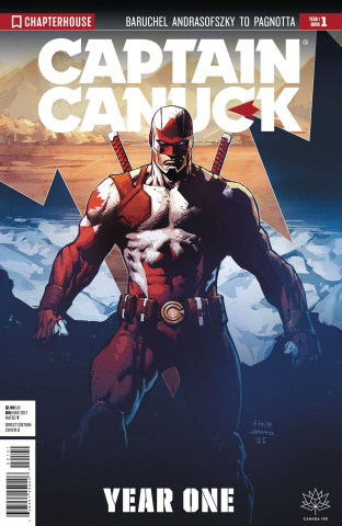 Captain Canuck, Year One #1 (Virgin Art Cover)