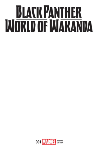 Black Panther: World of Wakanda #1 (Blank Cover)