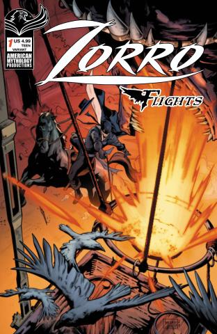 Zorro Flights #1 (Photo Cover)