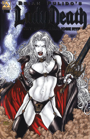 Lady Death: The Art of Juan Jose Ryp (Platinum Foil Cover)