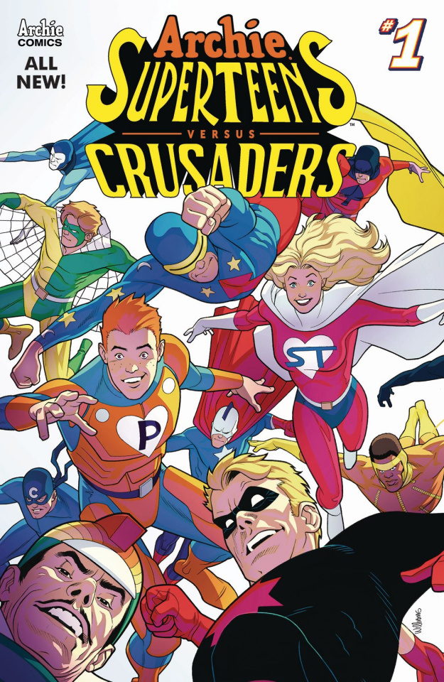 Archie's Superteens vs. Crusaders #1 (Connecting Cover)
