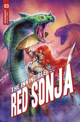 The Invincible Red Sonja #3 (Premium Chatzoudis Cover)