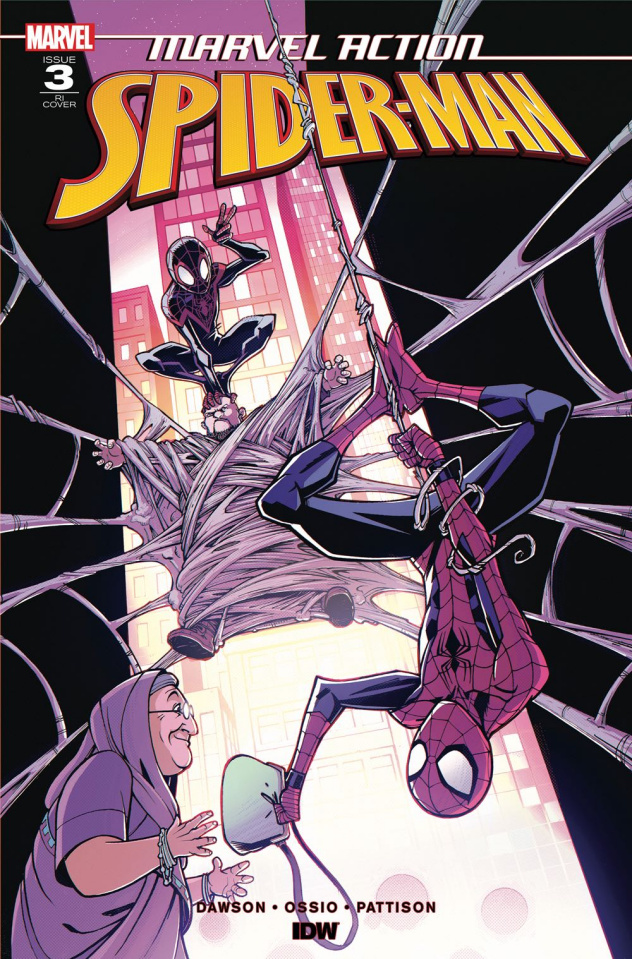 Marvel Action: Spider-Man #3 (10 Copy Roche Cover)