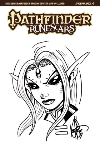 Pathfinder: Runescars #1 (Haeser Sketch Cover)