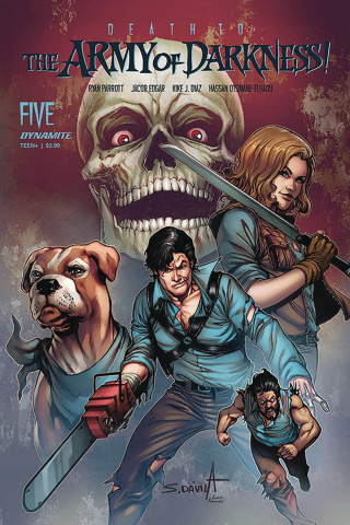 Death to the Army of Darkness #5 (Davila Cover)