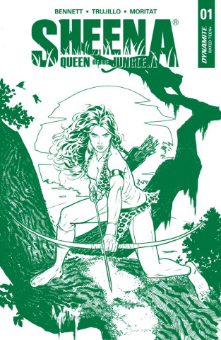 Sheena #1 (5 Copy Sook Jungle Green Cover)