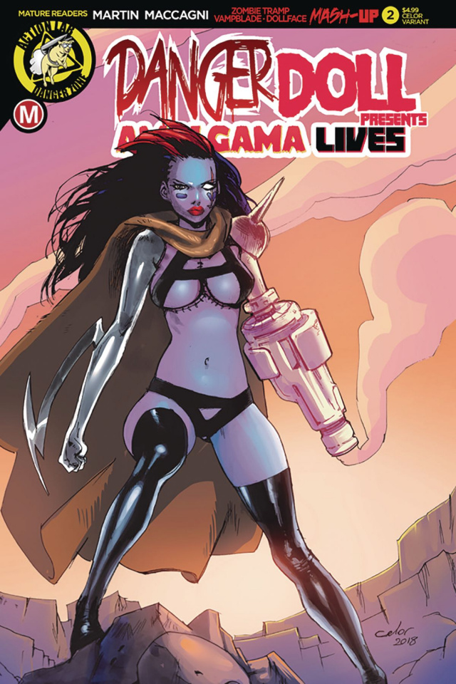 Danger Doll Squad Presents: Amalgama Lives #2 (Celor Cover)