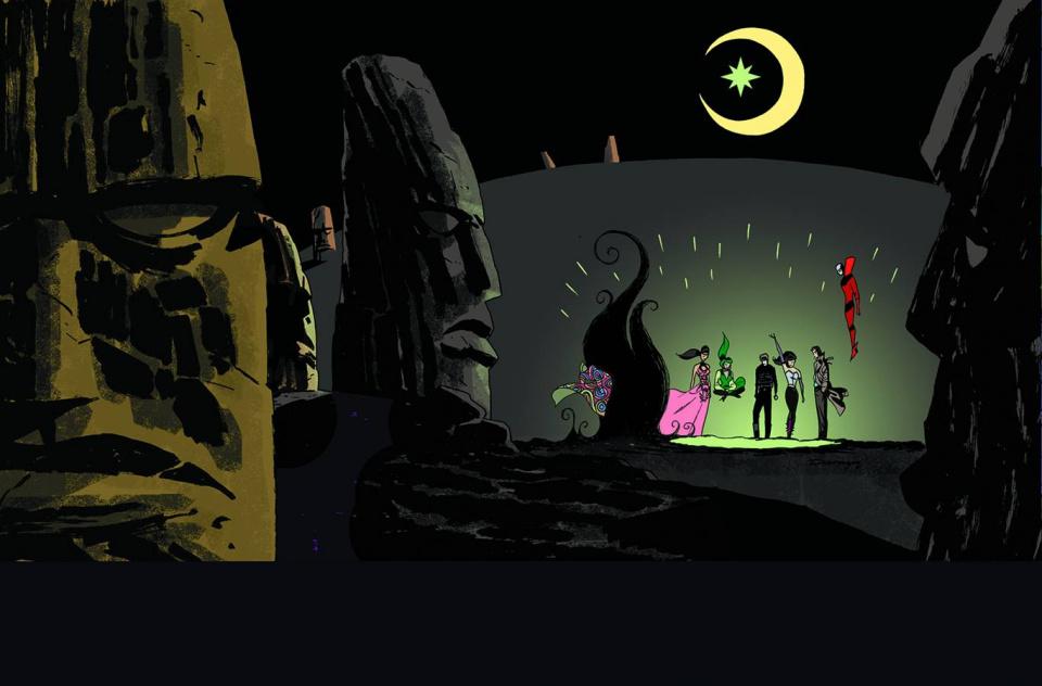 Justice League Dark #37 (Darwyn Cook Cover)
