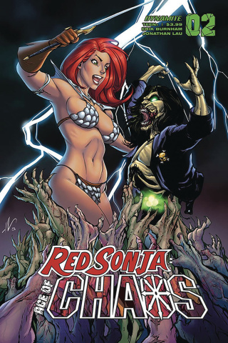 Red Sonja: Age of Chaos #2 (Garza Cover)