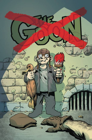 The Goon #14 (Cardstock Powell Cover)