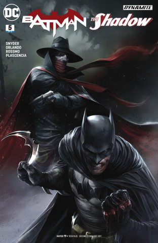 Batman / The Shadow #5 (Mattina Cover)