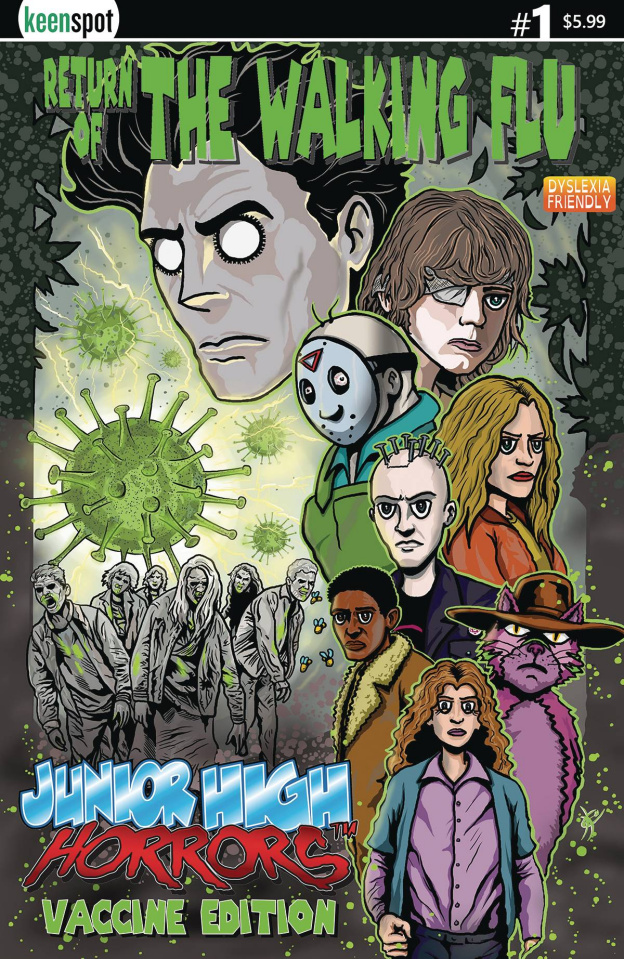 Junior High Horrors: The Walking Flu Vaccine Edition #1 (Kent Cover)