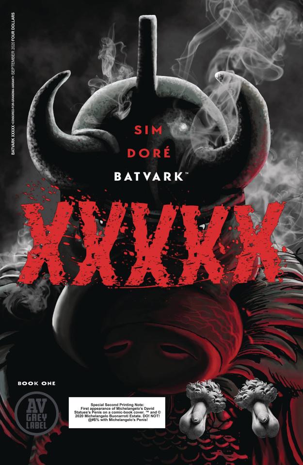 Batvark: XXXXX (2nd Printing)