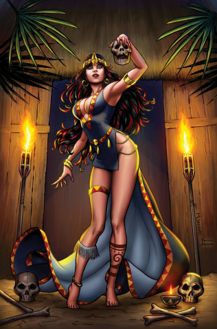 Grimm Fairy Tales: Grimm Tales of Terror #8 (Sanapo Cover)