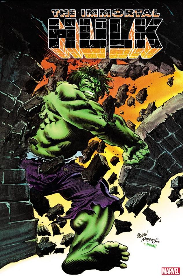 The Immortal Hulk #25 (Colan Nebres Hidden Gem Cover)