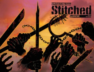 Stitched #5 (Wrap Cover)