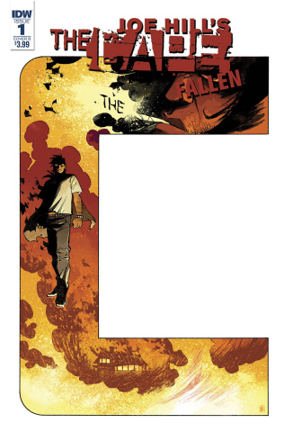 The Cape: Fallen #1 (Daniel Cover)