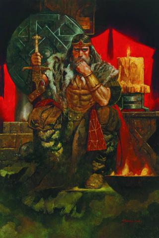 King Conan: Hour of the Dragon #1 (Sanjulian Cover)