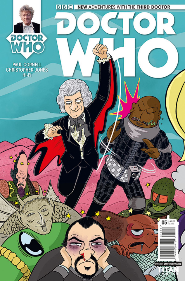 Doctor Who: New Adventures with the Third Doctor #5 (Edwards Cover)