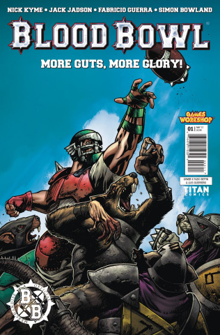 Blood Bowl: More Guts, More Glory! #1 (Bettin Cover)