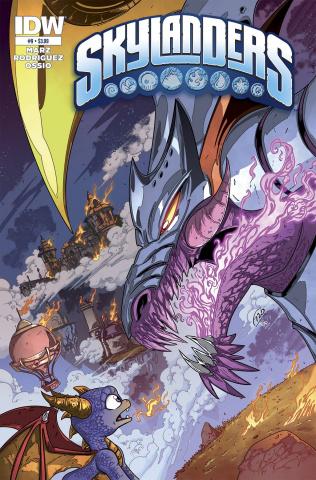 Skylanders #9: Return of the Dragon King