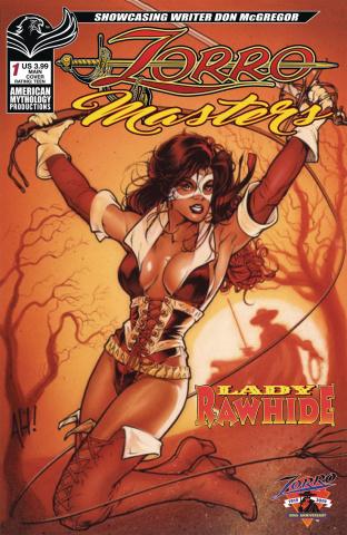Zorro Masters: Don McGregor - Lady Rawhide 25th Anniversary Edition