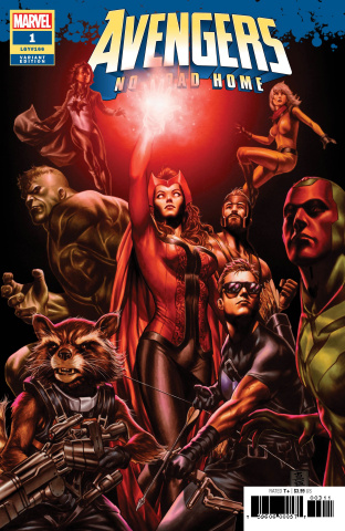 Avengers: No Road Home #1 (Brooks Cover)