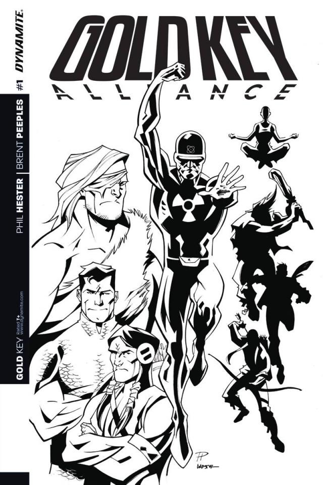 Gold Key Alliance #1 (10 Copy B&W Cover)