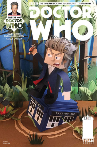Doctor Who: New Adventures with the Twelfth Doctor, Year Three #2 (Papercraft Cover)