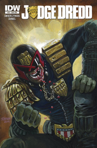 Judge Dredd #28 (Subscription Cover)
