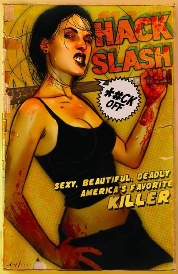 Hack/Slash #4 (Jones Cover)