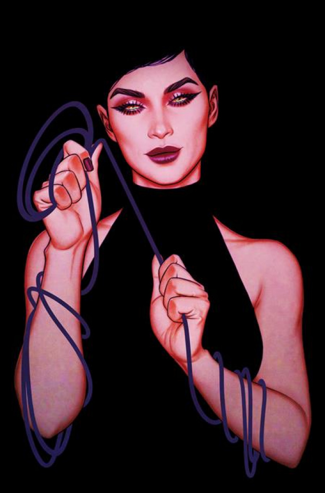 Catwoman #35 (Jenny Frison Card Stock Cover)