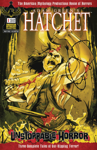 Hatchet: Unstoppable Horror #1 (Bloody Cover)