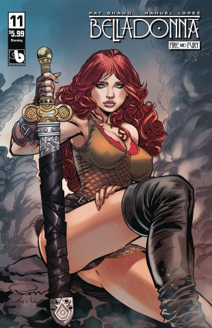 Belladonna: Fire and Fury #11 (Stunning Cover)