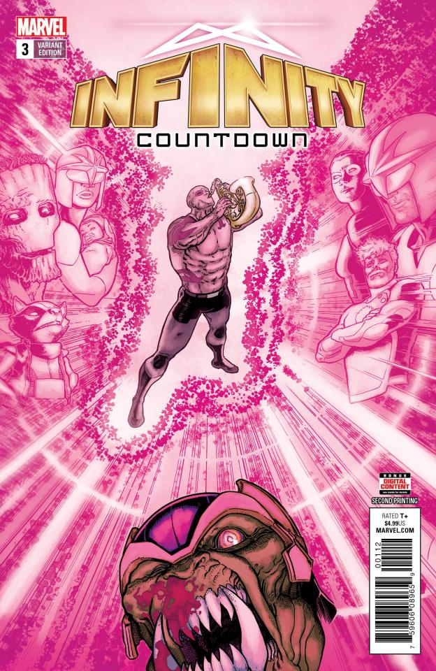 Infinity Countdown #3 (Kuder 2nd Printing)