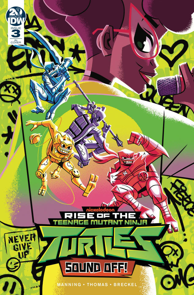 Rise of the Teenage Mutant Ninja Turtles: Sound Off #3 (10 Copy Caltsouda Cover)