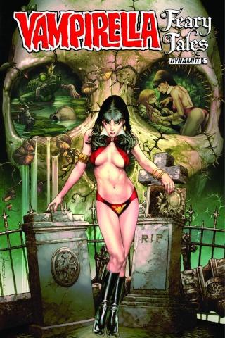 Vampirella: Feary Tales #5 (Anacleto Cover)