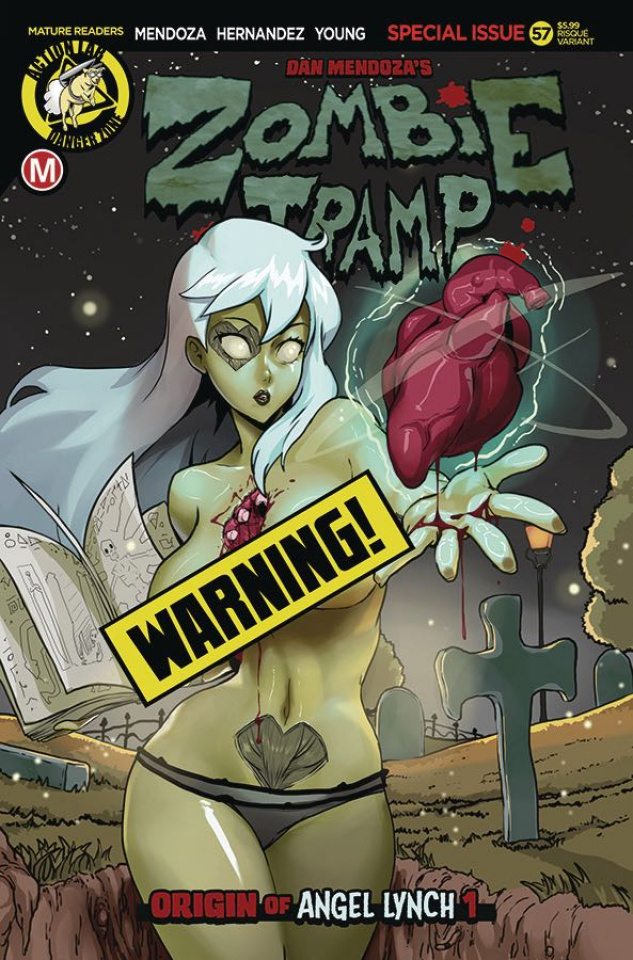 Zombie Tramp #57 (TMChu Risque Cover)