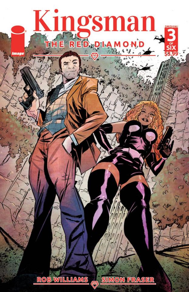 Kingsman: The Red Diamond #3 (Greene Cover)