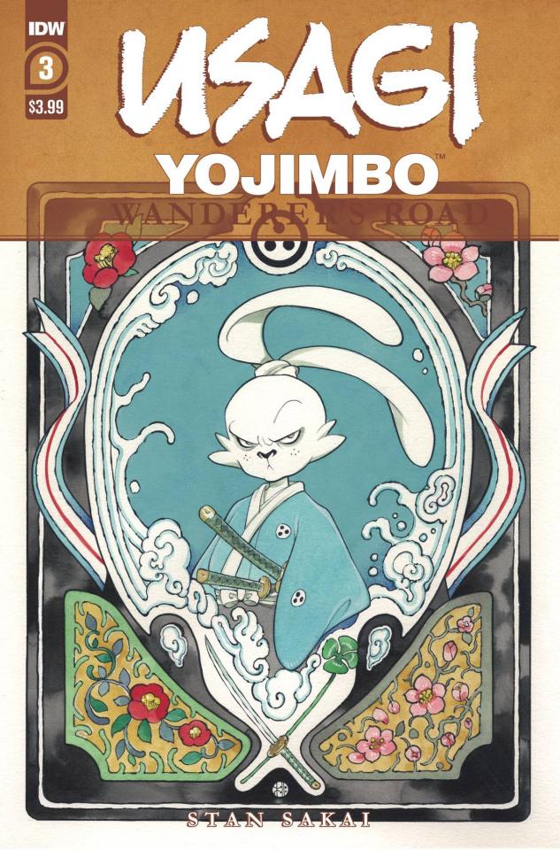 Usagi Yojimbo: Wanderer's Road #3 (Peach Momoko Cover)