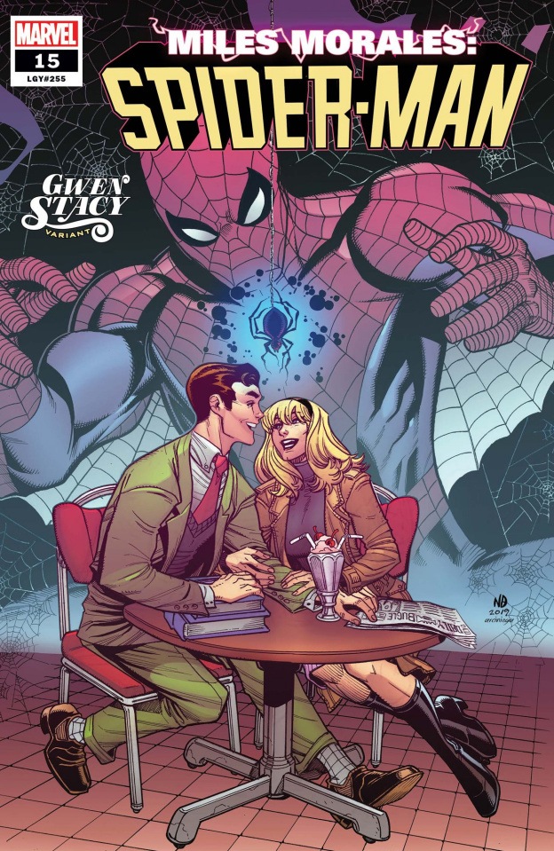 Miles Morales: Spider-Man #15 (Bradshaw Gwen Stacy Cover)