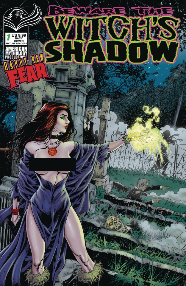 Beware the Witch's Shadow Happy New Fear #1 (Racy Cover)