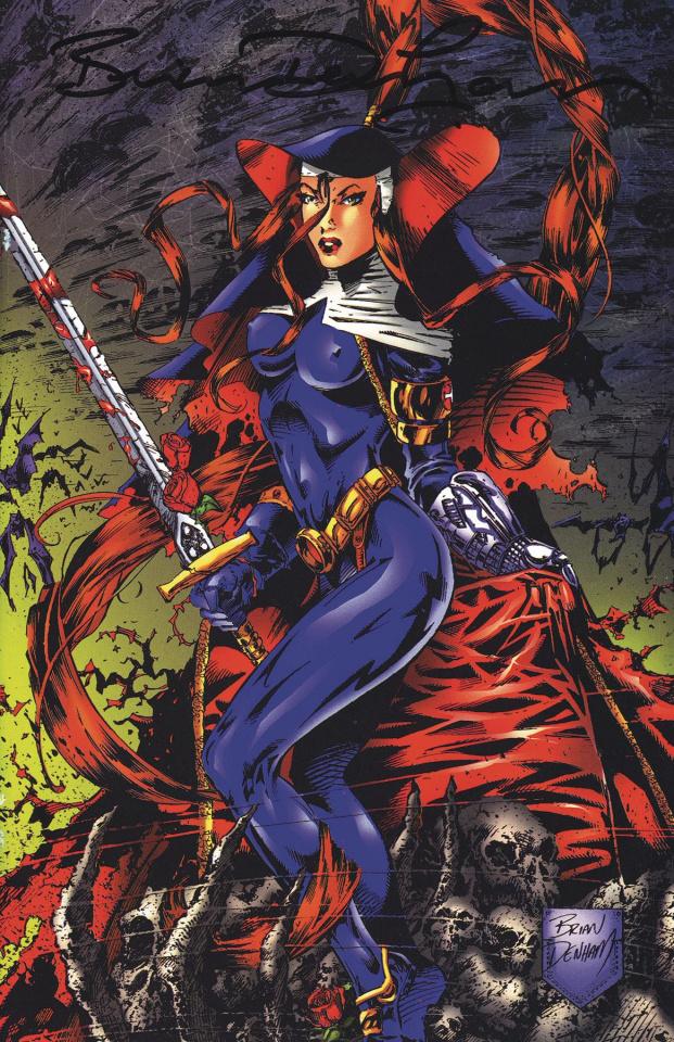 Warrior Nun 1997 #1 (Commemorative Signed Edition)