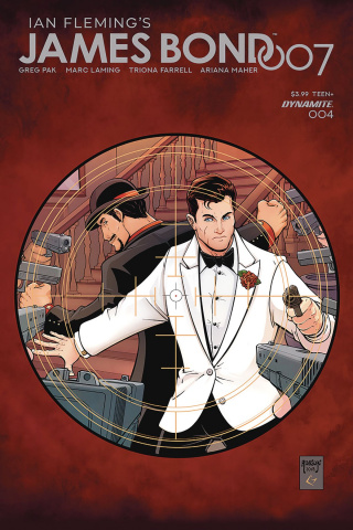 James Bond: 007 #4 (Robson Cover)