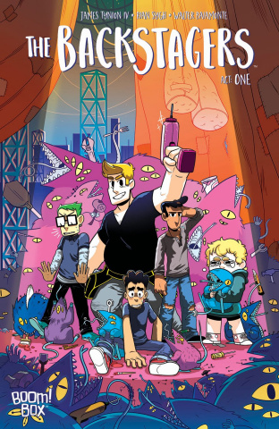 The Backstagers #1 (2nd Printing)