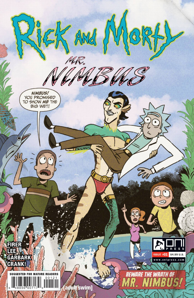 Rick and Morty: Mr. Nimbus #1 (Hobbes Cover)