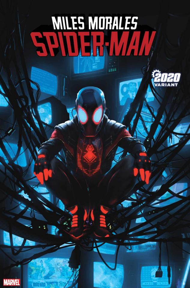 Miles Morales: Spider-Man #13 (Rahzzah 2020 Cover)