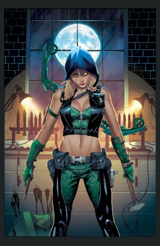 Grimm Fairy Tales: Robyn Hood - I Love NY #7 (Johnson Cover)
