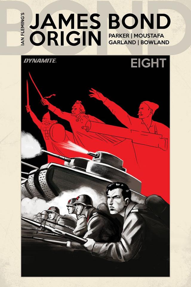 James Bond: Origin #8 (Bob Q Cover)
