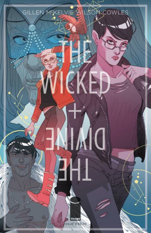 The Wicked + The Divine #9 (Sauvage Cover)